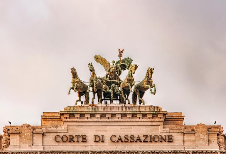 The Palazzo di Giustizia situated in the Italian capital of Rome.